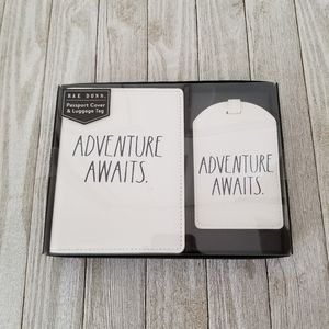 Rae Dunn ADVENTURE AWAITS Passport Cover Luggage